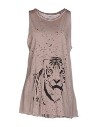Bomboogie Topwear Vests Women Grey