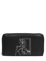 Givenchy Bambi Printed Leather Zip Around Wallet