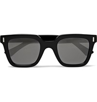 Cutler And Gross Square Frame Acetate Sunglasses Black