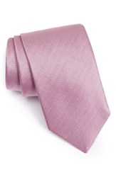 Eton Men's Herringbone Textured Silk Tie
