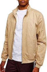 Topman Harrington Jacket Stone