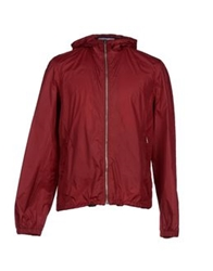 Orlebar Brown Jackets Brick Red