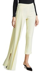 Hellessy Reflection Pants Pale Yellow