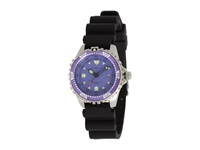 Momentum M1 Small Purple Dial Black Rubber Strap Watches