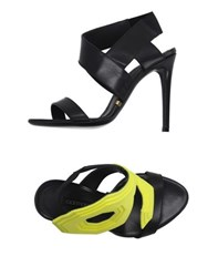 Gianmarco Lorenzi Footwear Sandals Women Yellow