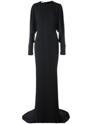 Stella Mccartney Full Length Dress Blue
