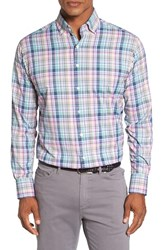 Peter Millar Men's 'Beaker' Regular Fit Performance Sport Shirt