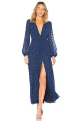 Ale By Alessandra X Revolve Eduarda Maxi Dress Navy