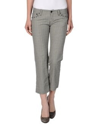 Franklin And Marshall Casual Pants Grey