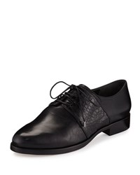 Alexandre Birman Molly 25Mm Lace Up Oxford Black