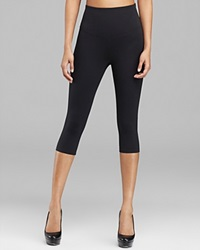 Yummie Tummie Yummie By Heather Thomson Leggings Talia Capri Yt2 220 Black