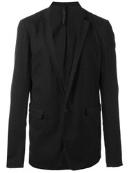Poeme Bohemien Flap Pocket Blazer Black