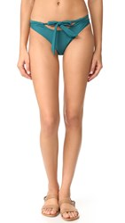 Minkpink Oceans Cheeky Bottoms Dark Teal