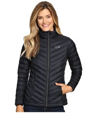 Mountain Hardwear Micro Ratio Down Jacket Black Women's Coat