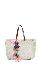 Star Mela Sol Macrame Tote Natural Multi