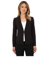 Adrianna Papell Marni Clean Seamed Blazer Black Women's Jacket