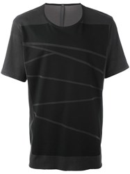 Attachment Smudge Box T Shirt Black