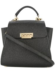 Zac Posen Eartha Glitter Convertible Backpack Black