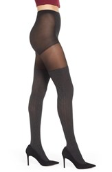 6e4ef2571d3 Pretty Polly Marled Over The Knee Sock Tights Grey