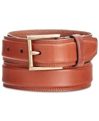 Cole Haan Men's Stitched Leather Belt Woodbury