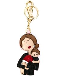 Dolce And Gabbana ' Dg Family' Keyring