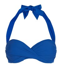 Gottex Surplice Bikini Top B Cup Female Blue