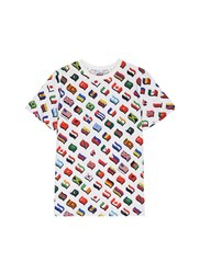 Opening Ceremony Global Varsity T Shirt Around The World Multi Colour