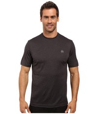 Travis Mathew The Hg Heather Magnet Men's Short Sleeve Knit Gray