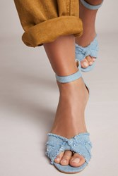 Seychelles Sunrays Wedge Sandals Denim Light