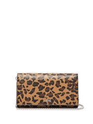 Christian Louboutin Boudoir Leopard Print Leather Belt Bag Leopard