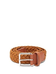 Andersons Anderson's Woven Elasticated Belt Tan