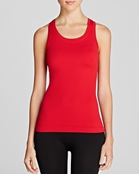 Spanx Active Ribbed Racerback Tank Spanx Red