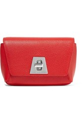 Akris Anouk Little Day Textured Leather Clutch One Size