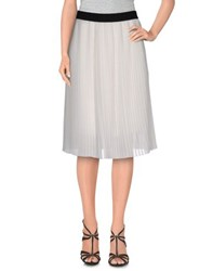 S.O.H.O New York Soho Skirts Knee Length Skirts Women White