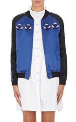 Opening Ceremony Women's Reversible Silk Bomber Jacket Black