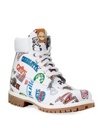 Timberland All Nba Team Work Boots White