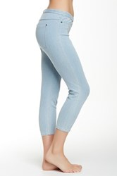 Hue Original Denim Capri Legging Blue