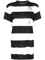 Haider Ackermann Striped T Shirt Black