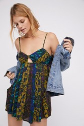 Free People Womens Rows Of Flowers One Piece