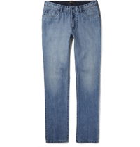 Brioni Washed Denim Jeans Blue