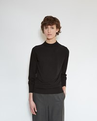 Christophe Lemaire Second Skin Sweater Black
