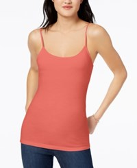 Maison Jules Shelf Bra Camisole Created For Macy's Coral Bliss