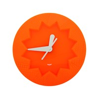 Kartell Crystal Palace Wall Clock Orange