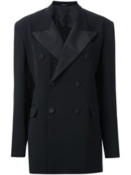 Maison Martin Margiela Masculine Smoking Jacket Black