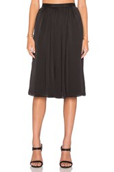 Needle And Thread Pandora Midi Skirt Black