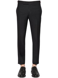 Thom Browne Skinny Cool Wool Pants
