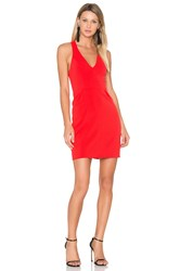 Amanda Uprichard Santiago Dress Red