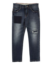 Little Marc Jacobs Cool Effects Denim Trousers Blue