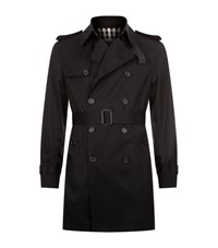 Sandro Magnetic Trench Coat Male Black