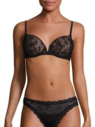 Mimi Holliday Fortune Cookie Comfort V Bra Black Cherry